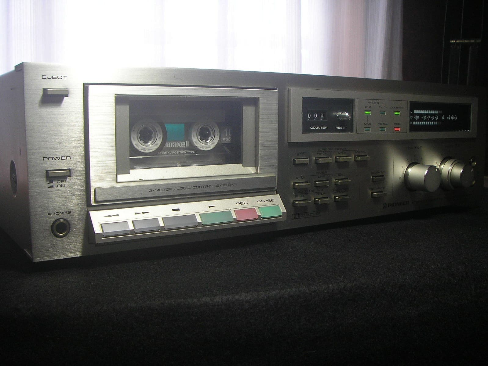 PIONEER CT-520 カセットデッキ ラジカセ修理 アトリエ4R
